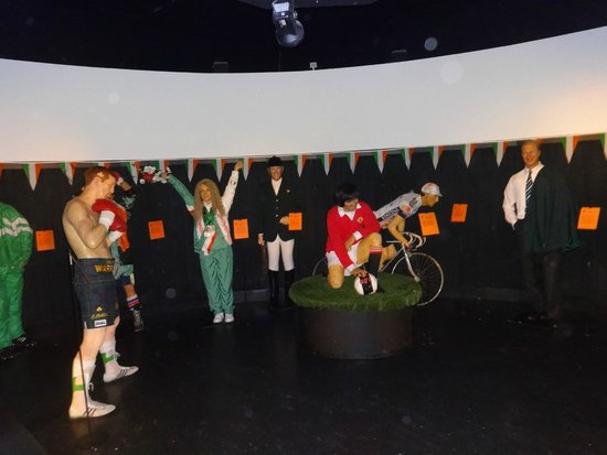 The National Wax Museum Plus : sport celebrities