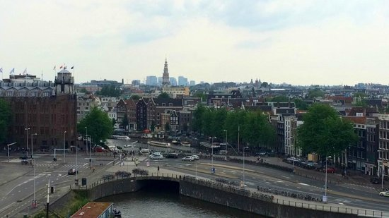 DoubleTree by Hilton Hotel Amsterdam Centraal Station: A glimpse of our view