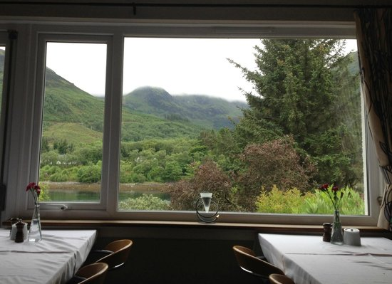 Loch Leven Hotel: View from dining room