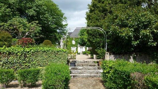 L'Hermitage: Vanuit de achtertuin