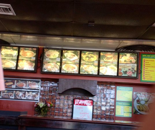 Roberto's Taco Shop: Order at counter, they cook cook it up fresh & bring it out to you! About $ 7/8 a meal. Great fo