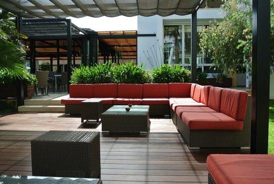 Protur Sa Coma Playa Hotel & Spa: terrasse