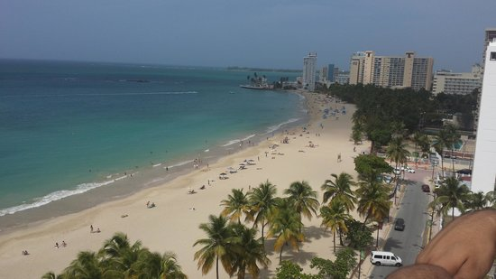 San Juan Water & Beach Club Hotel: view from rooftop lounge