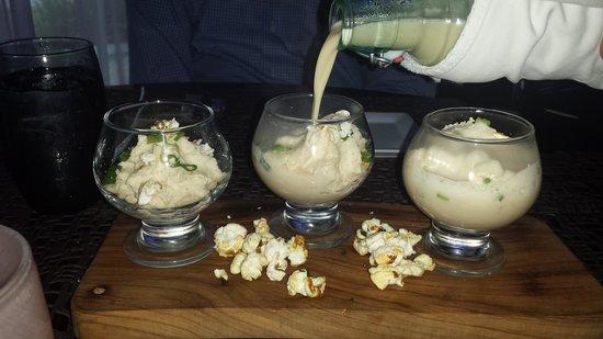 San Juan Water & Beach Club Hotel: popcorn soup