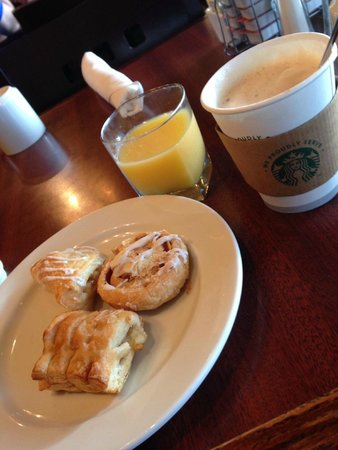 Kansas City Airport Marriott: Desayuno
