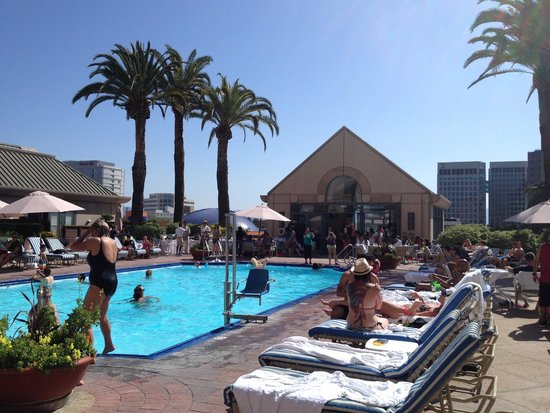 Fairmont San Jose : Área da piscina