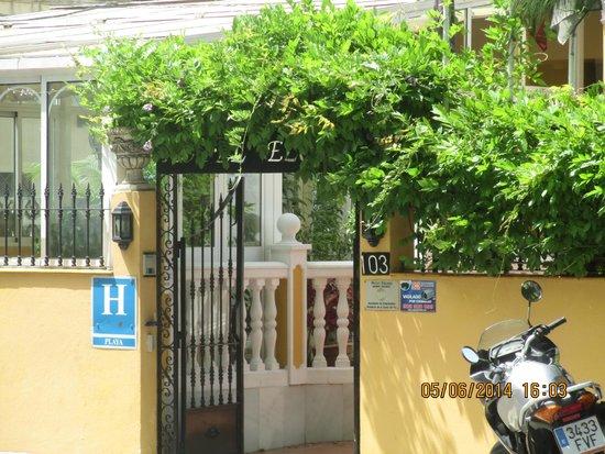 Hotel Elcano: Entrada