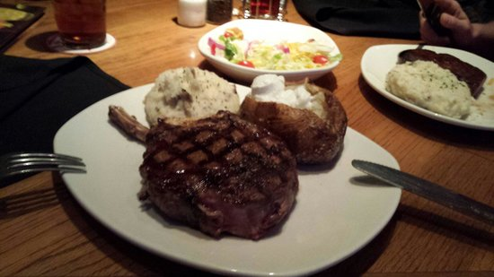 Outback Steakhouse : Medium to rare