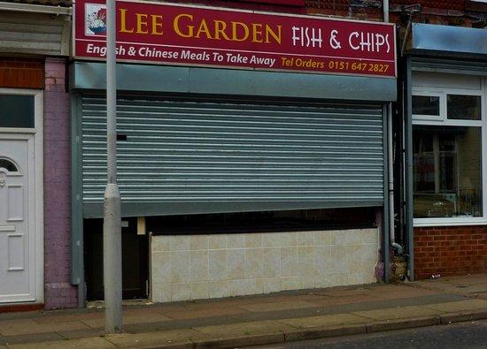 Lee Garden takeaway, Birkenhead