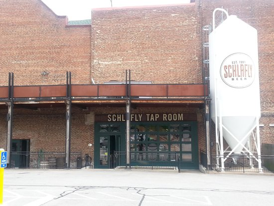 Schlafly Tap Room: Outside of Schlafly's Tap Room