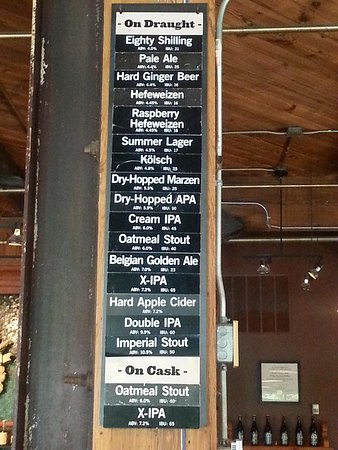 6/2014 Beers on Tap Schlafly Tap Room