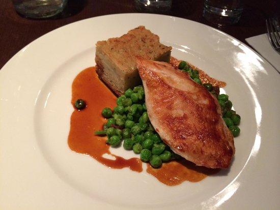 Le Bon Crubeen: Pollo