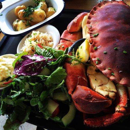 Crab Shack: crab salad