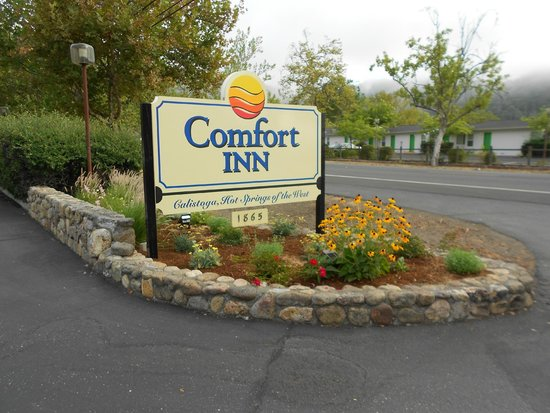 Comfort Inn Calistoga, Hot Springs of the West: Entrance
