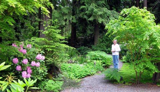 Domaine Madeleine: Garden