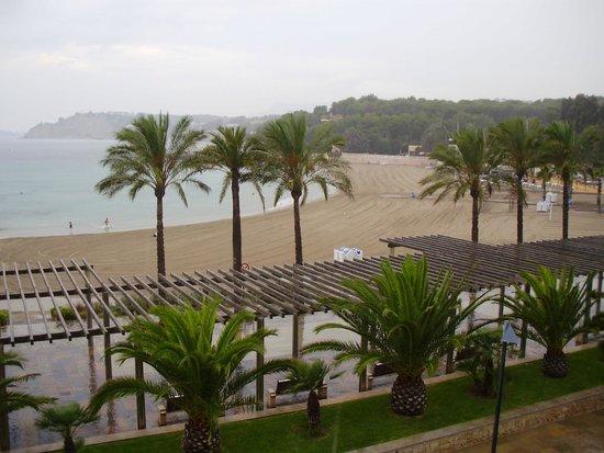 Sand Restaurant: Bahia de Moraira desde el hotel La Sort