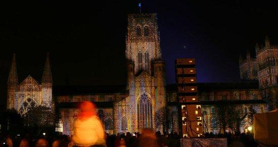 Cathédrale de Durham : Son et Lumiere