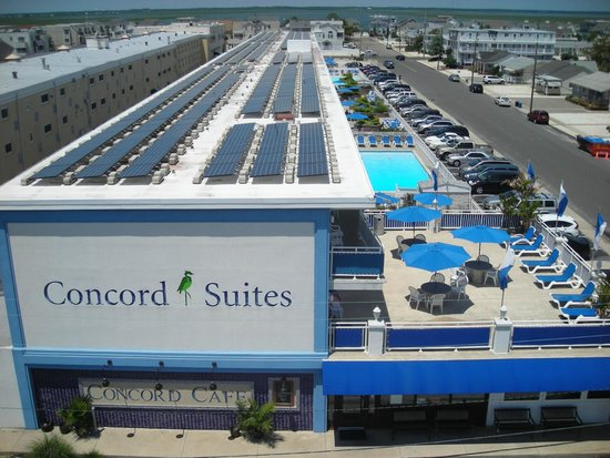 The Concord Suites: Solar array