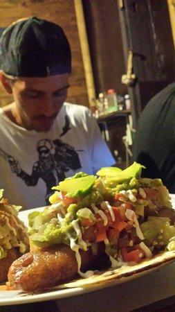 La Olita: Fish Tacos & the Chef himself!!