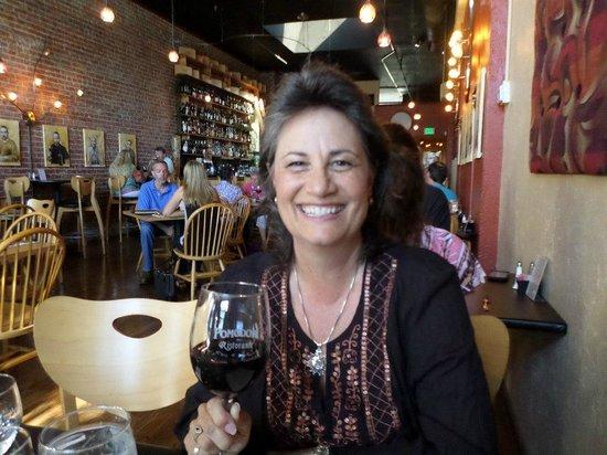 At the Pomodori Bistro & Wine Bar