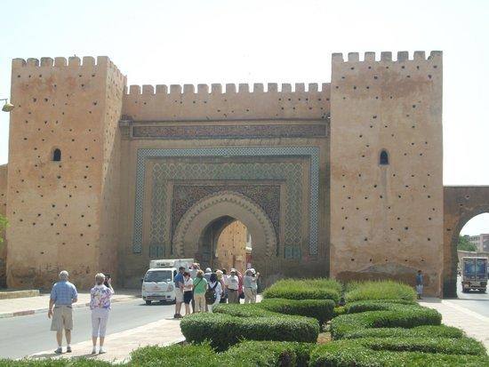 Bab Mansour Gate & Wall