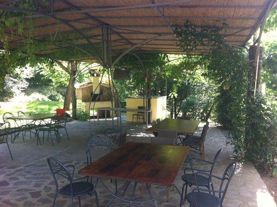 Relais Parco Fiorito: LA PERGOLA