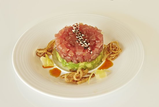 Le Meridien Delfina Santa Monica: Fresh tuna tartare and avocado