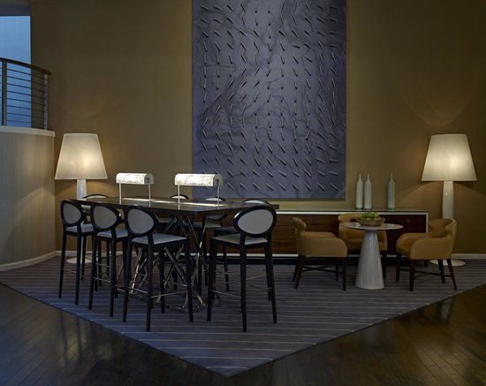 The Hub is a great way to connect at Le Meridien Delfina Santa Monica
