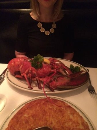 W Minneapolis - The Foshay : Manny's lobster