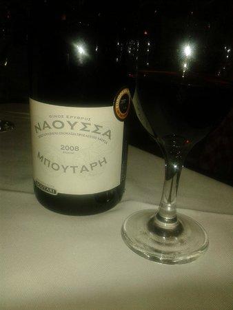 Niko's Taverna: Vinho Delicioso