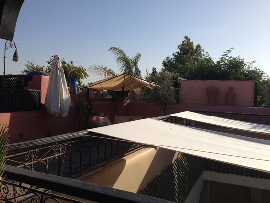 Riad Sharmance: terrazza