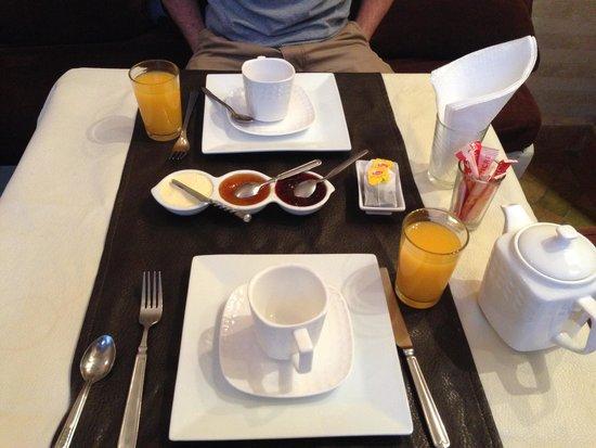 Riad Sharmance: colazione
