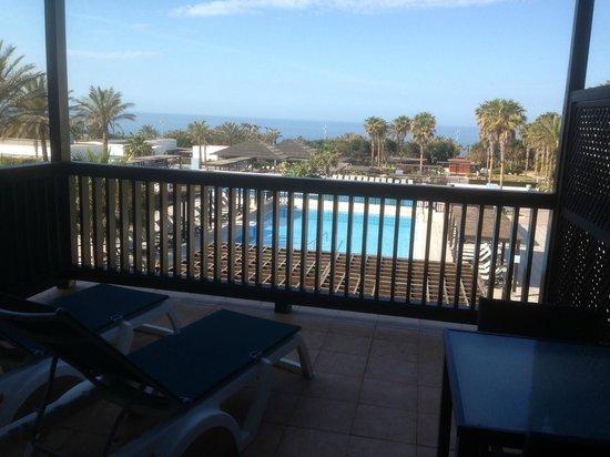 Barcelo Cabo de Gata: Vista desde la terraza de la habitación