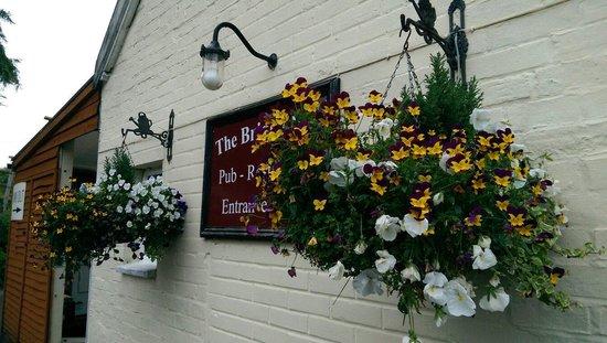 West Lavington, UK: Rear entrance