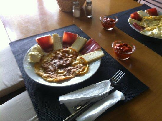 Hotel Aurora: Frühstück. Bio!