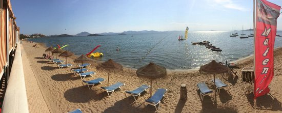 Daddy's Hobby: Panoramablick Mar Menor (links angeschnitten Terrasse)