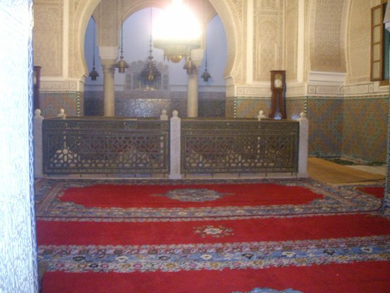 Mausoleum of Mouley Ismail: Mausoleum of Moulay Ismail - shrine