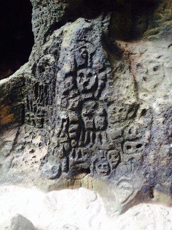 La Cueva del Indio: once you climb down ladder