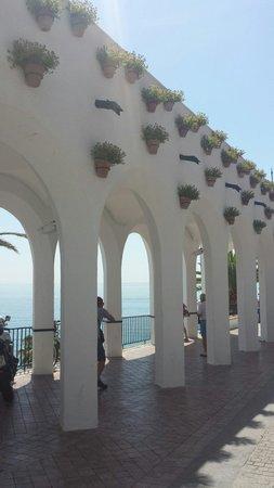 Balcon de Europa: El balcón de Europa.