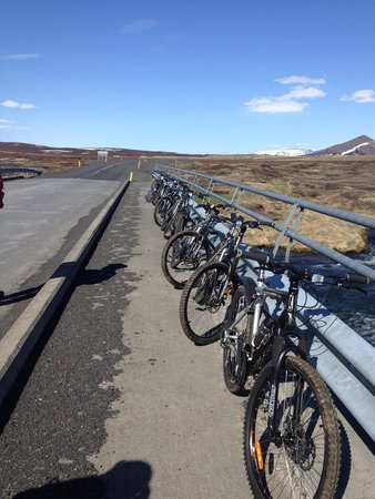bikes of HIKE and BIKE