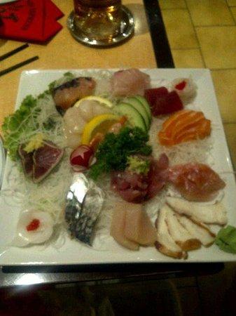 Niji Express : Umi - Assortiment de Sashimi