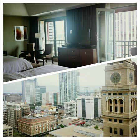 The Westin Denver Downtown : View from top floor suite