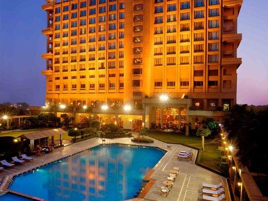 The Pool Facade of Eros Hotel