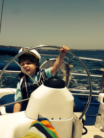 Sail San Diego: My five-year old son loved the trip too!
