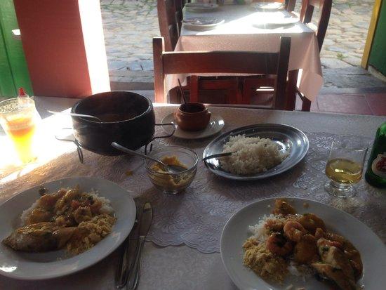Vittorio Trattoria: Moqueca de peixe, camarão e banana da terra
