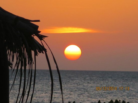 Holbox Hotel Mawimbi: Gorgeous Sunset