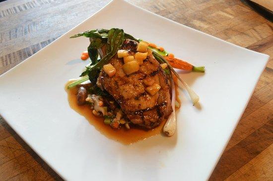The Restaurant at Gideon Ridge: Watauga County Pork