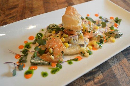 The Restaurant at Gideon Ridge: NC Shrimp