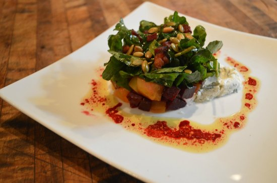 The Restaurant at Gideon Ridge: Beet & Watercress Salad