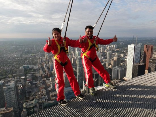 Edge Walk at the CN Tower: Over the Edge